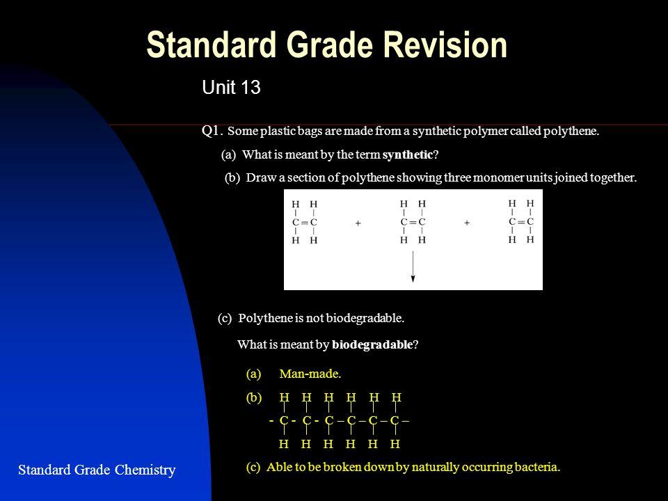 Standard Grade Revision Unit 13 Q1.