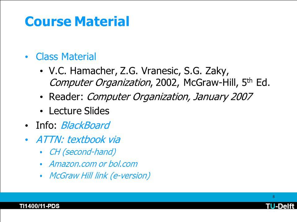 TU-Delft TI1400/11-PDS 8 Course Material Class Material V.C.