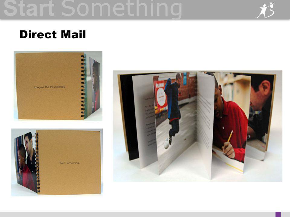 Start Something Direct Mail