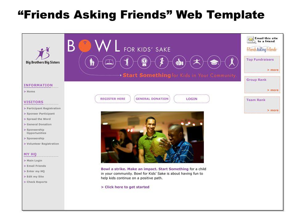 """Friends Asking Friends"" Web Template"