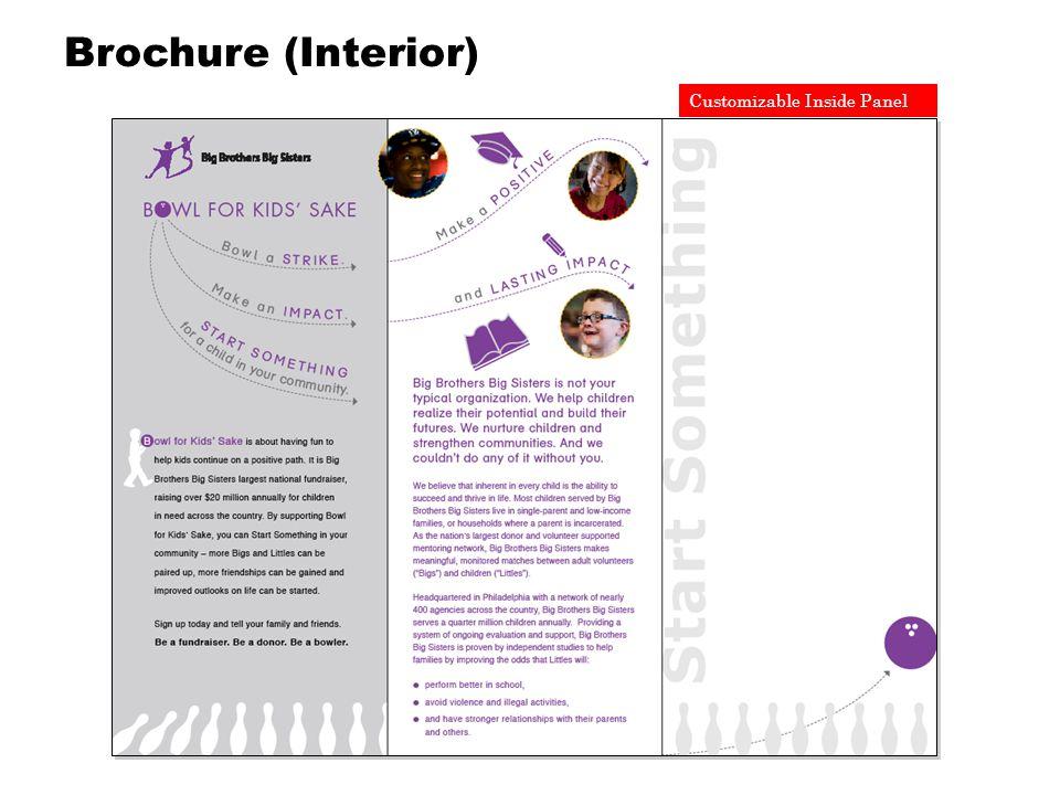 Customizable Inside Panel Brochure (Interior)