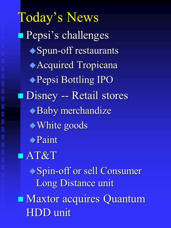 Transformation Total Return 1993 S&P Nokia Motorola Eriksson n Nokia u 1989: Diversified electrical conglomerate u 1993: 87% telecom focus