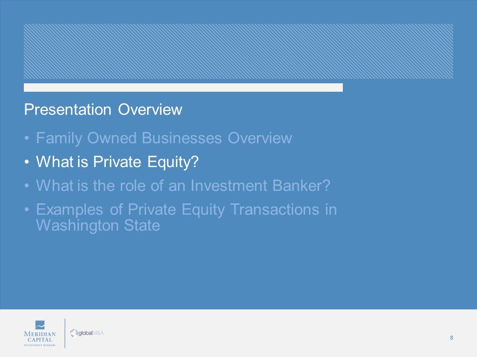 8 Family Owned Businesses Overview What is Private Equity.