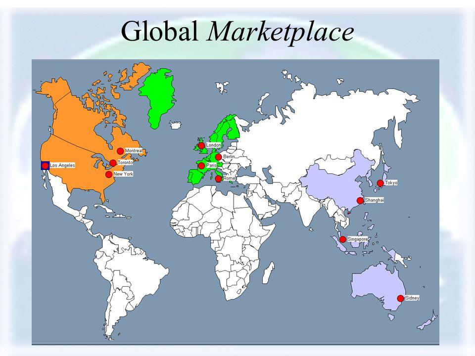 Copyright 2001 Ernest R. Cadotte Global Marketplace