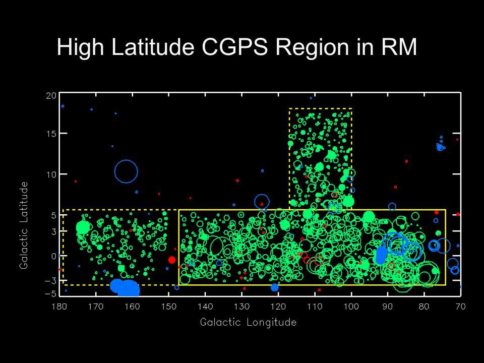 High Latitude CGPS Region in RM