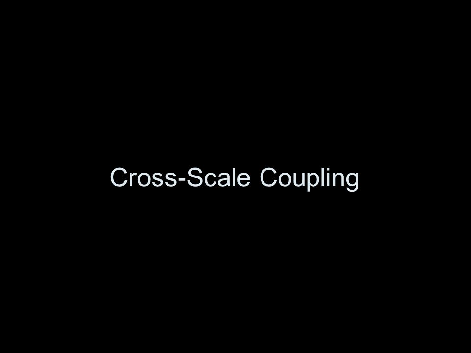 Cross-Scale Coupling