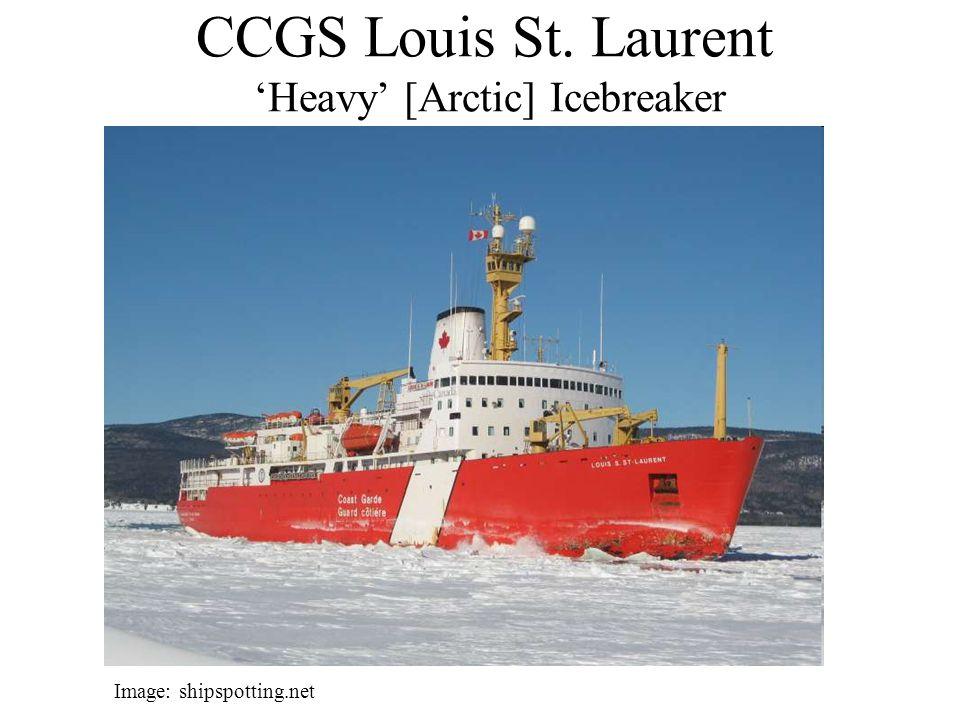 CCGS Louis St. Laurent 'Heavy' [Arctic] Icebreaker Image: shipspotting.net