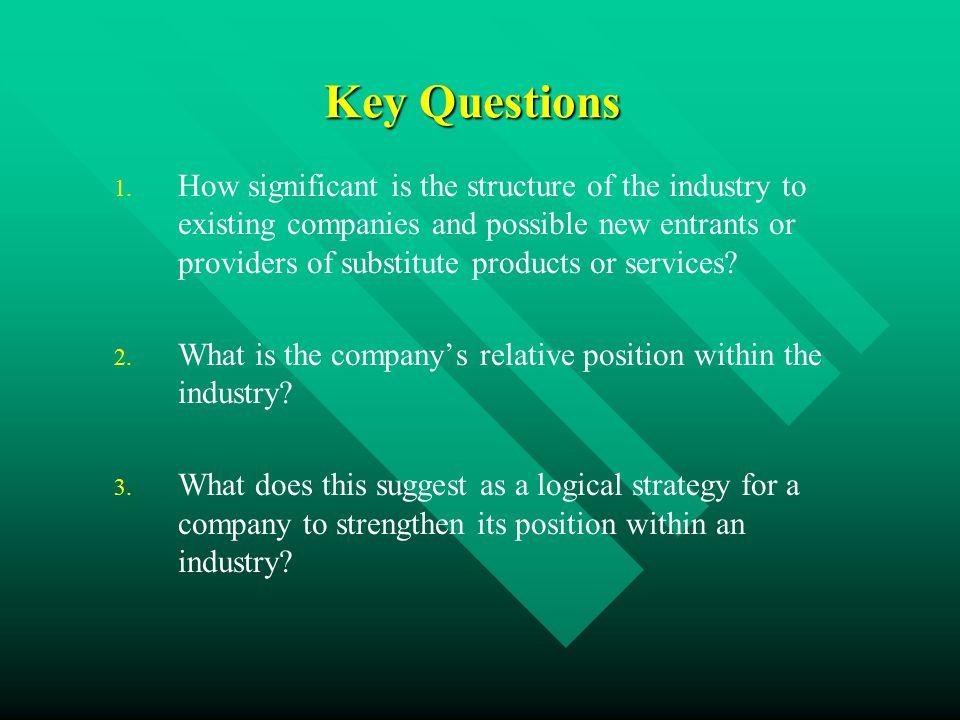 Key Questions 1.1.