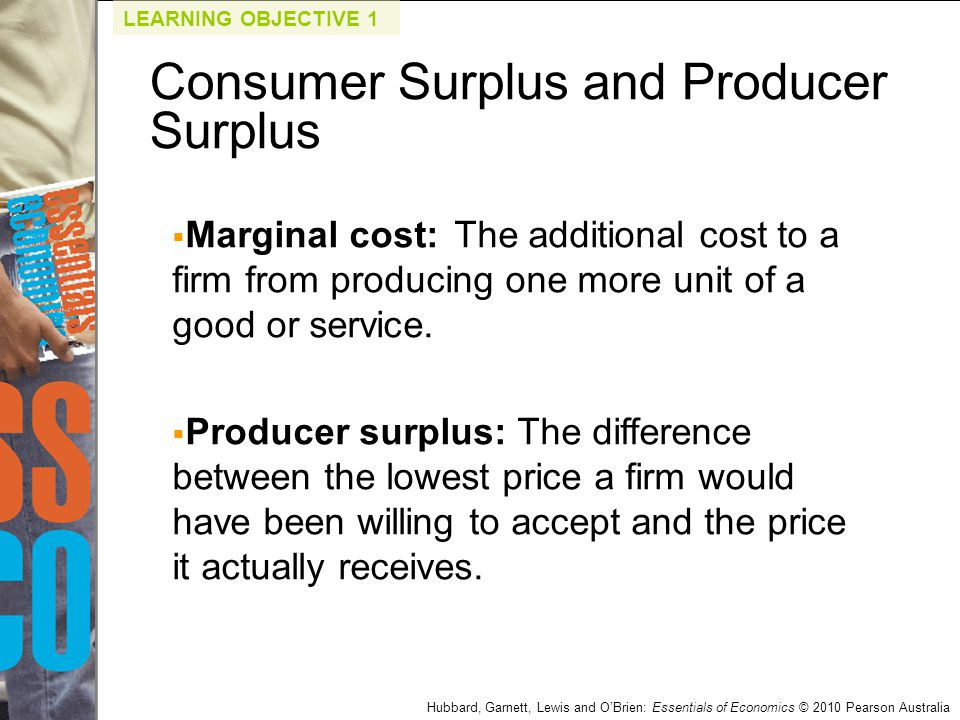 Hubbard, Garnett, Lewis and O'Brien: Essentials of Economics © 2010 Pearson Australia Q4.Refer to the graph below.