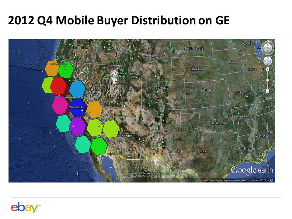 2012 Q4 Mobile Buyer Distribution on GE