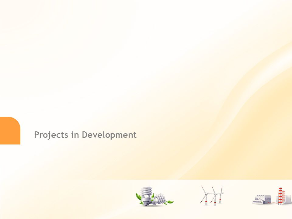 13 Projects in Development