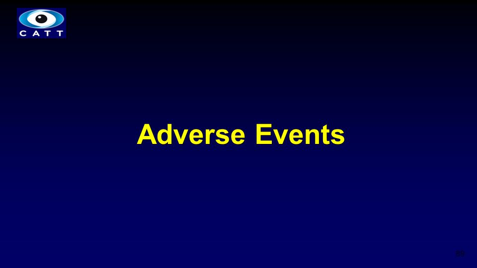 Adverse Events 89