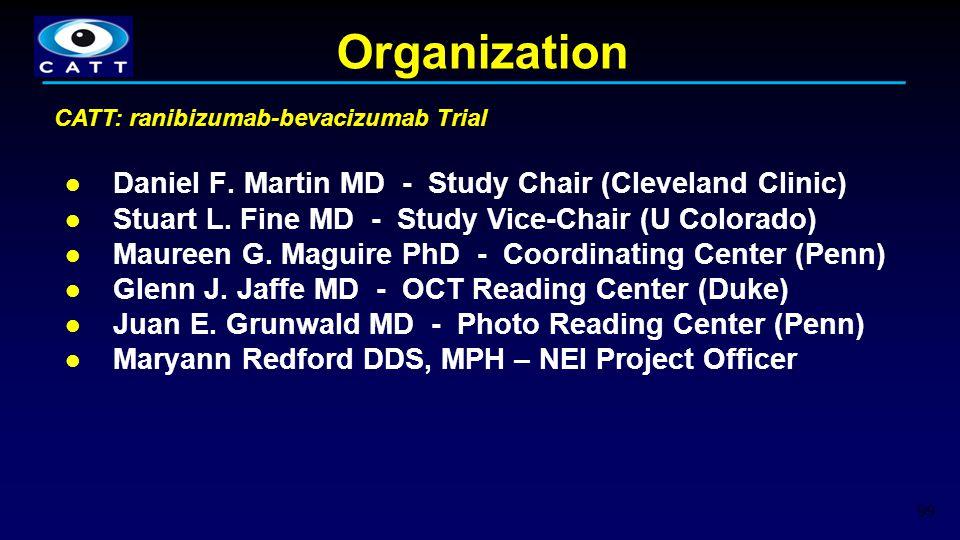 Organization Daniel F. Martin MD - Study Chair (Cleveland Clinic) Stuart L. Fine MD - Study Vice-Chair (U Colorado) Maureen G. Maguire PhD - Coordinat