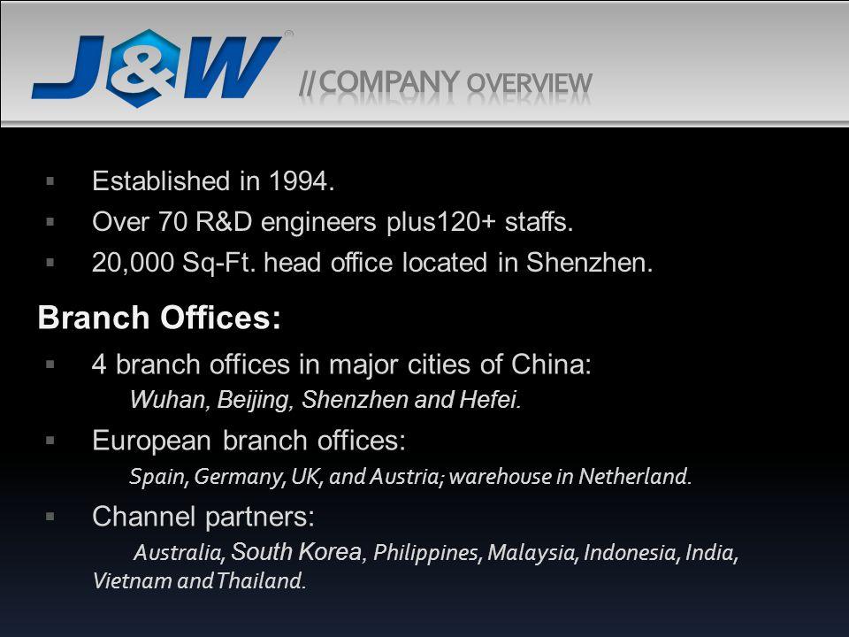 J&W Technology Limited.