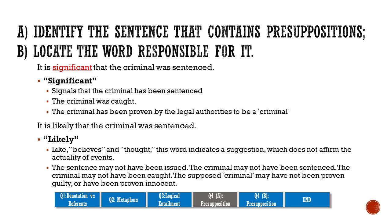It is significant that the criminal was sentenced.