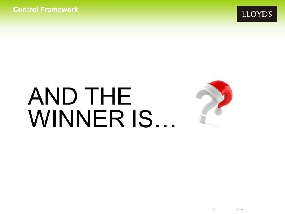 © Lloyd's35 Control Framework Further information on Control Framework controlframework@lloyds.com www.lloyds.com/controlframework