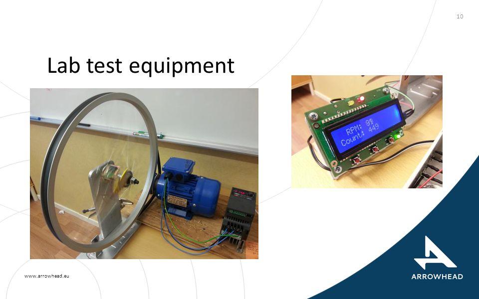 www.arrowhead.eu Lab test equipment 10