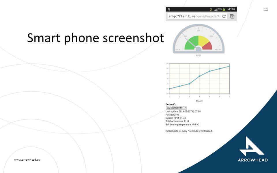 www.arrowhead.eu Smart phone screenshot 12