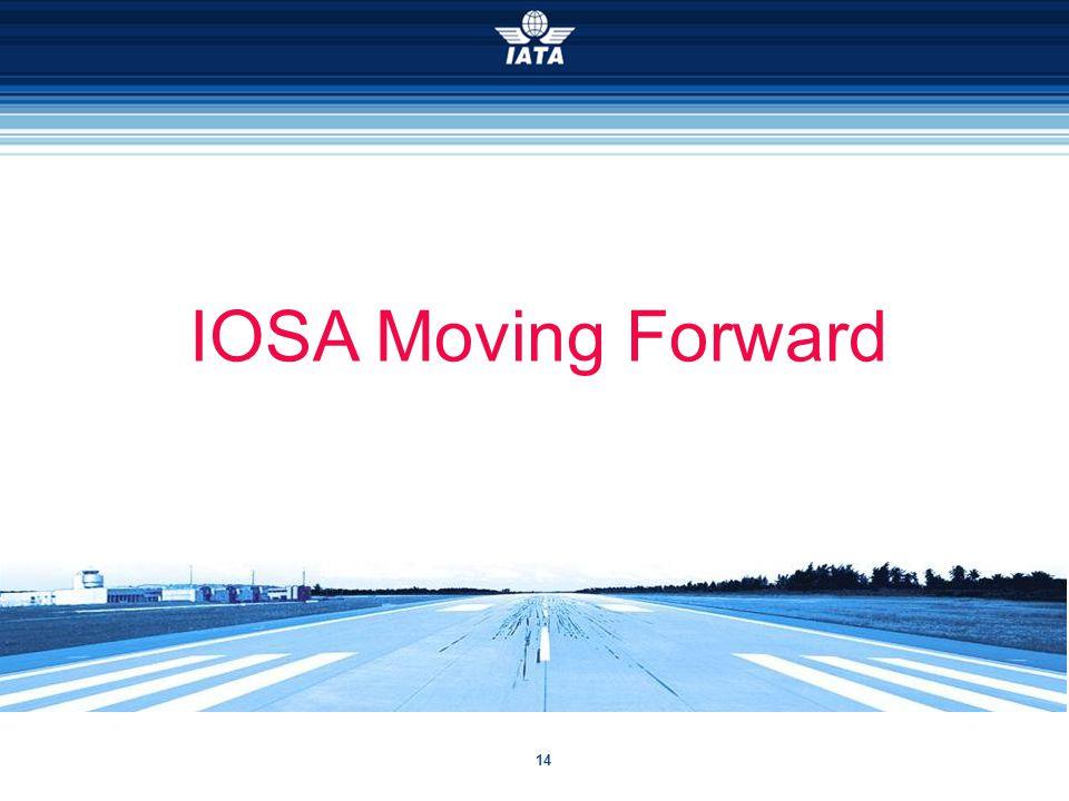 14 IOSA Moving Forward