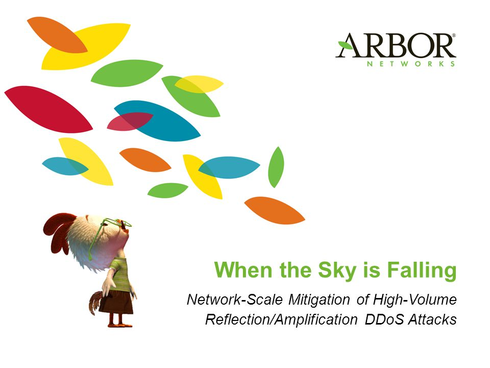 When the Sky is Falling Network-Scale Mitigation of High-Volume Reflection/Amplification DDoS Attacks
