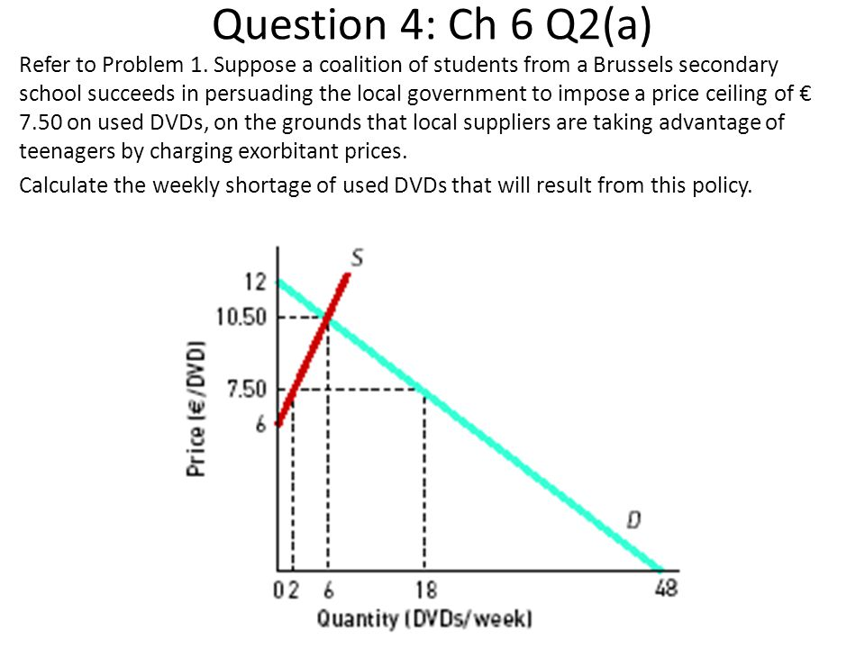 Question 4: Ch 6 Q2(a) Refer to Problem 1. Suppose a coalition of students from a Brussels secondary school succeeds in persuading the local governmen