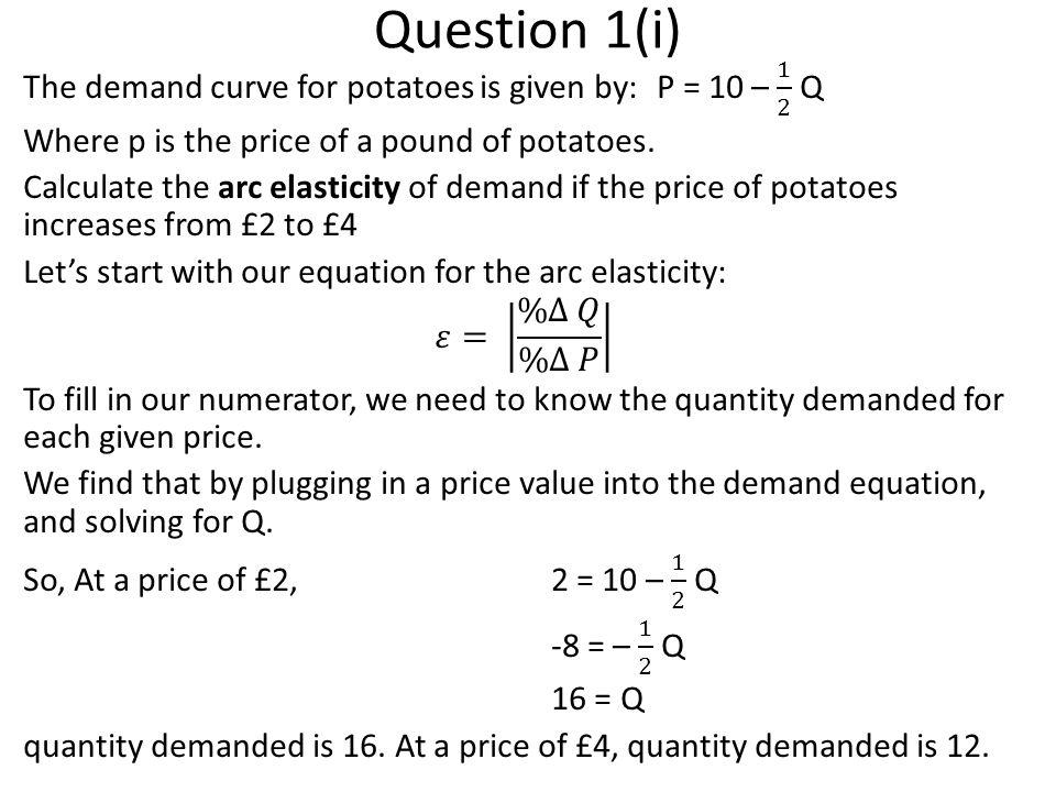 Question 4: Ch 6 Q4(b) Demand: P = 8 – Q, Supply: P = 2 + Q, where P is the price in euros.