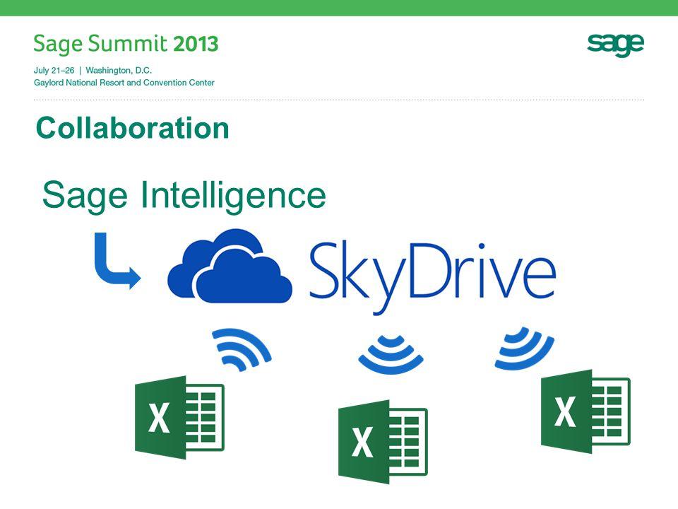 Collaboration Sage Intelligence