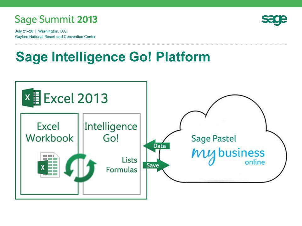 Sage Intelligence Go! Platform