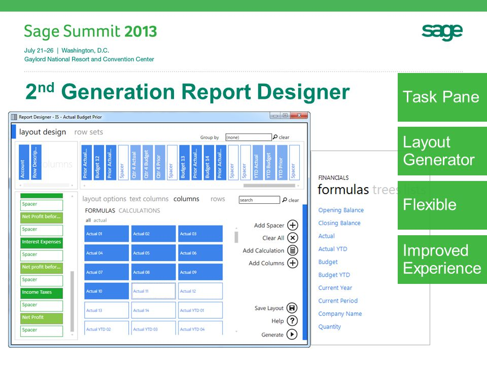 Mobile Reporting Goal: Leverage Excel smartly to deliver mobile reporting.