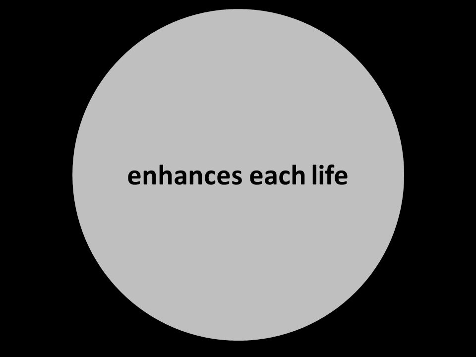 enhances each life