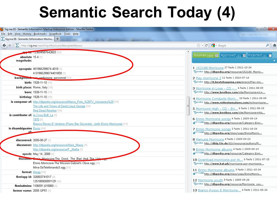 Semantic Search Today (4)