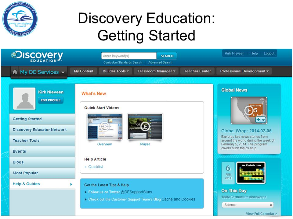Discovery Education: Getting Started