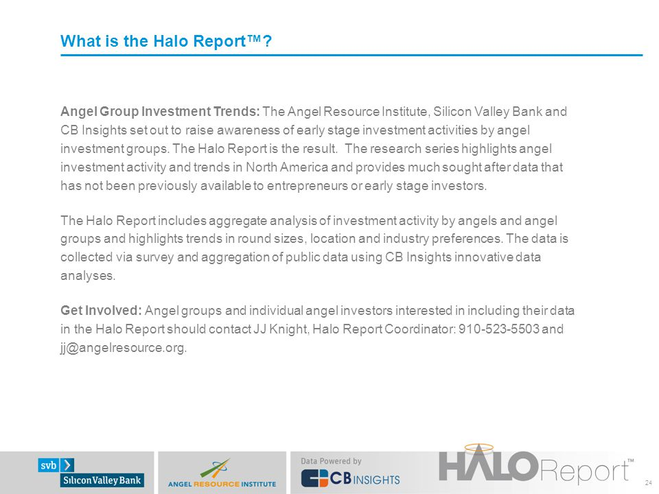 What is the Halo Report™.