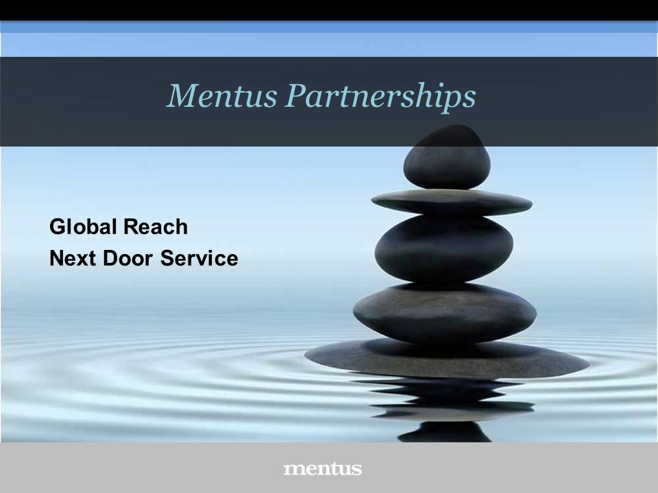 Mentus Partnerships Global Reach Next Door Service