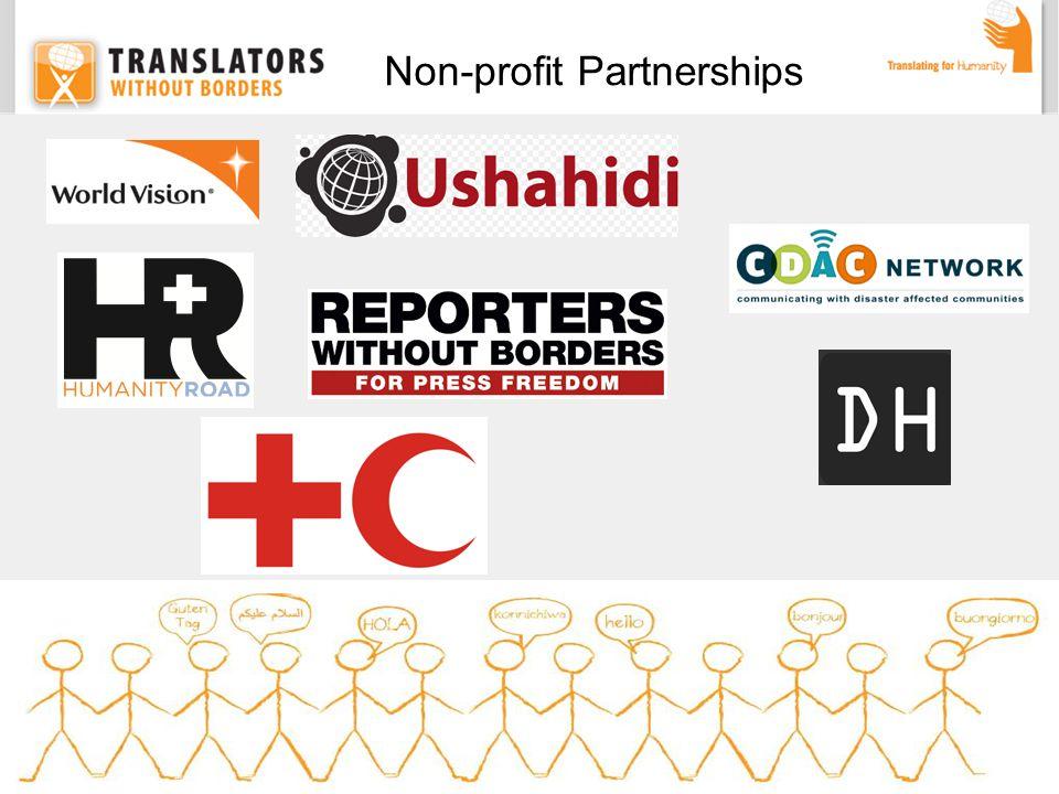 Non-profit Partnerships