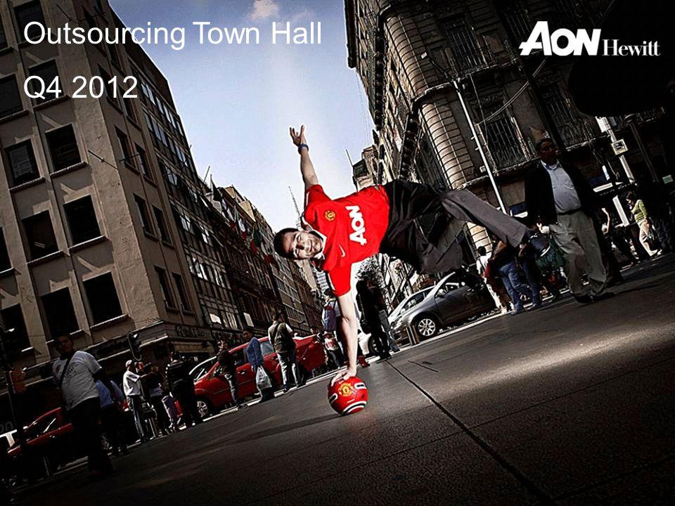 Outsourcing Town Hall Q2 2012 Outsourcing Town Hall Q4 2012