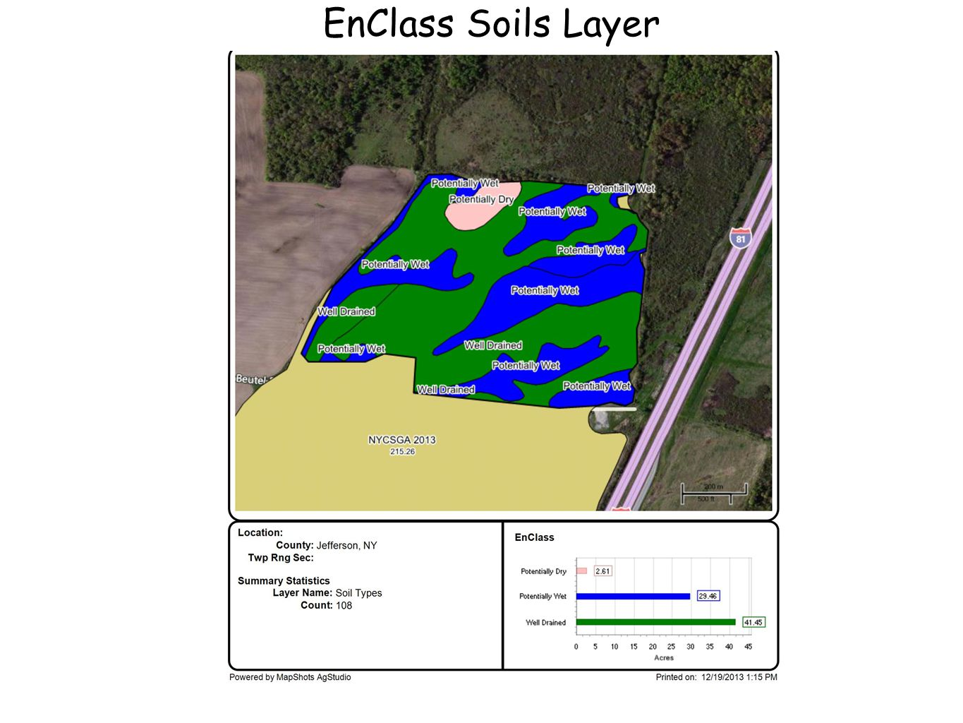 EnClass Soils Layer