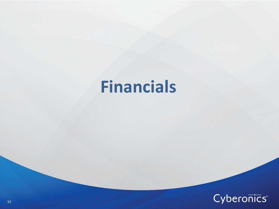 Financials 11