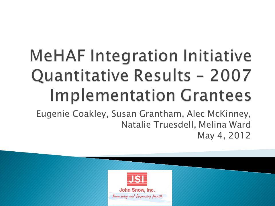 Eugenie Coakley, Susan Grantham, Alec McKinney, Natalie Truesdell, Melina Ward May 4, 2012