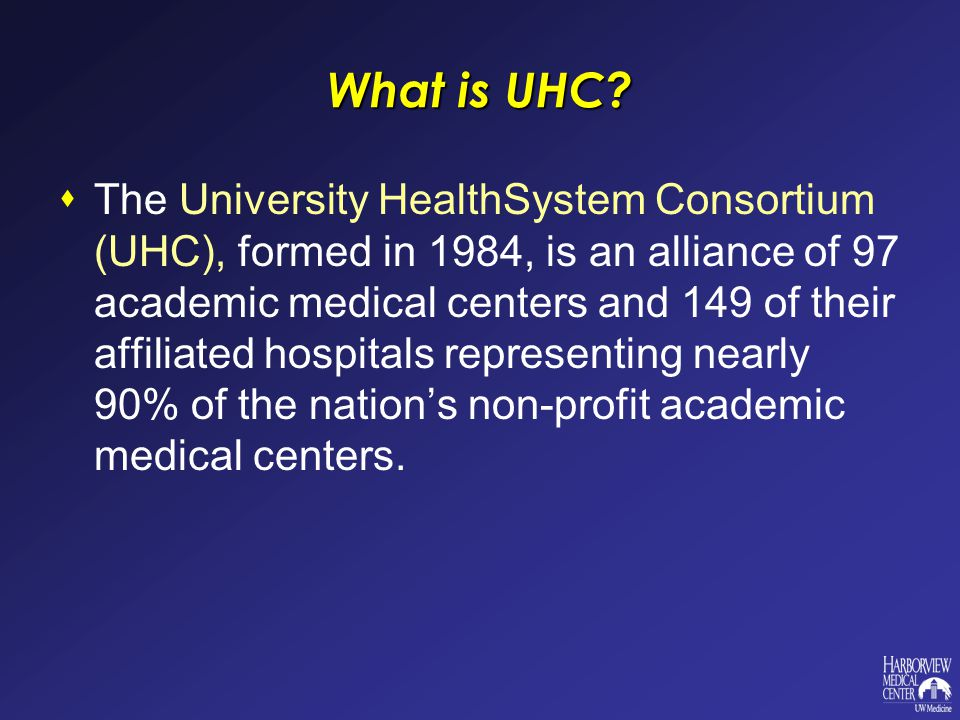 What is UHC.