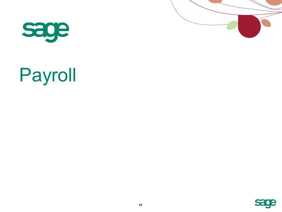 41 Payroll