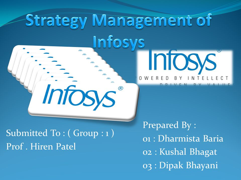 OTHER STRATEGIES: CONCENTRATION: 90% of Infosys revenues from American and European nations.