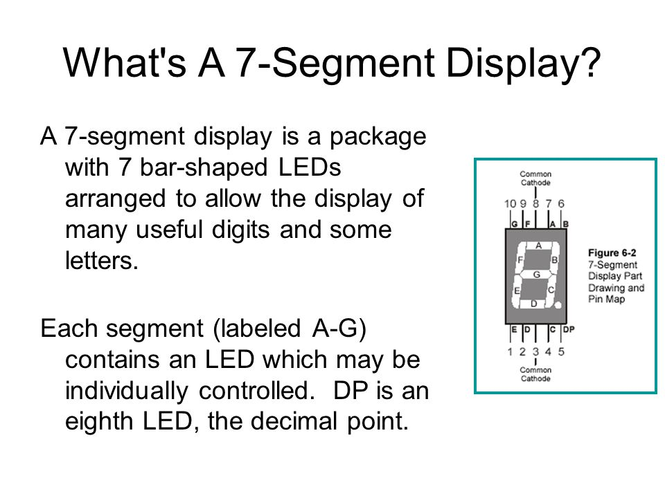 What s A 7-Segment Display.