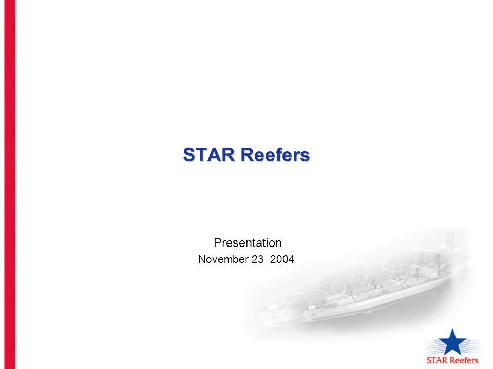 STAR Reefers Presentation November 23 2004