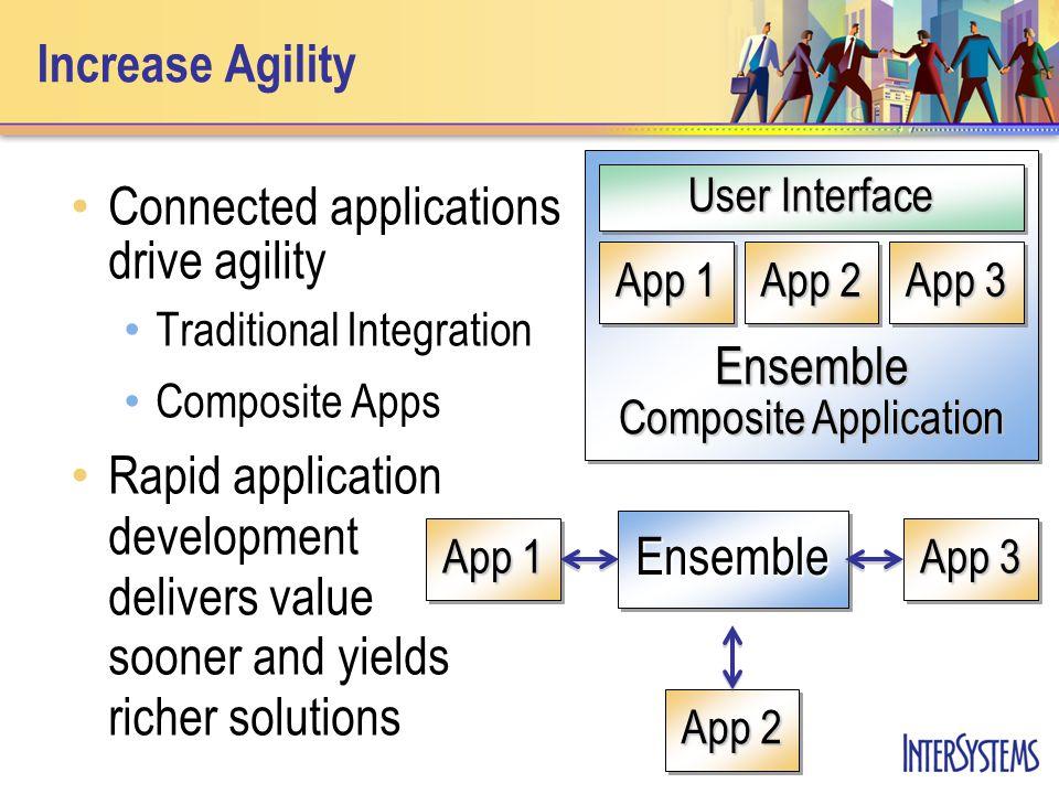 Development Automation Speeds development and enhances supportability of large Ensemble systems HTML / PDF Documentation Studio Project Ensemble Production Ensemble 2009.1