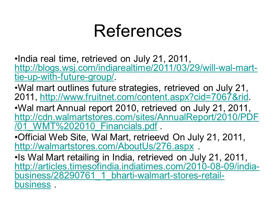 References India real time, retrieved on July 21, 2011,   tie-up-with-future-group/.