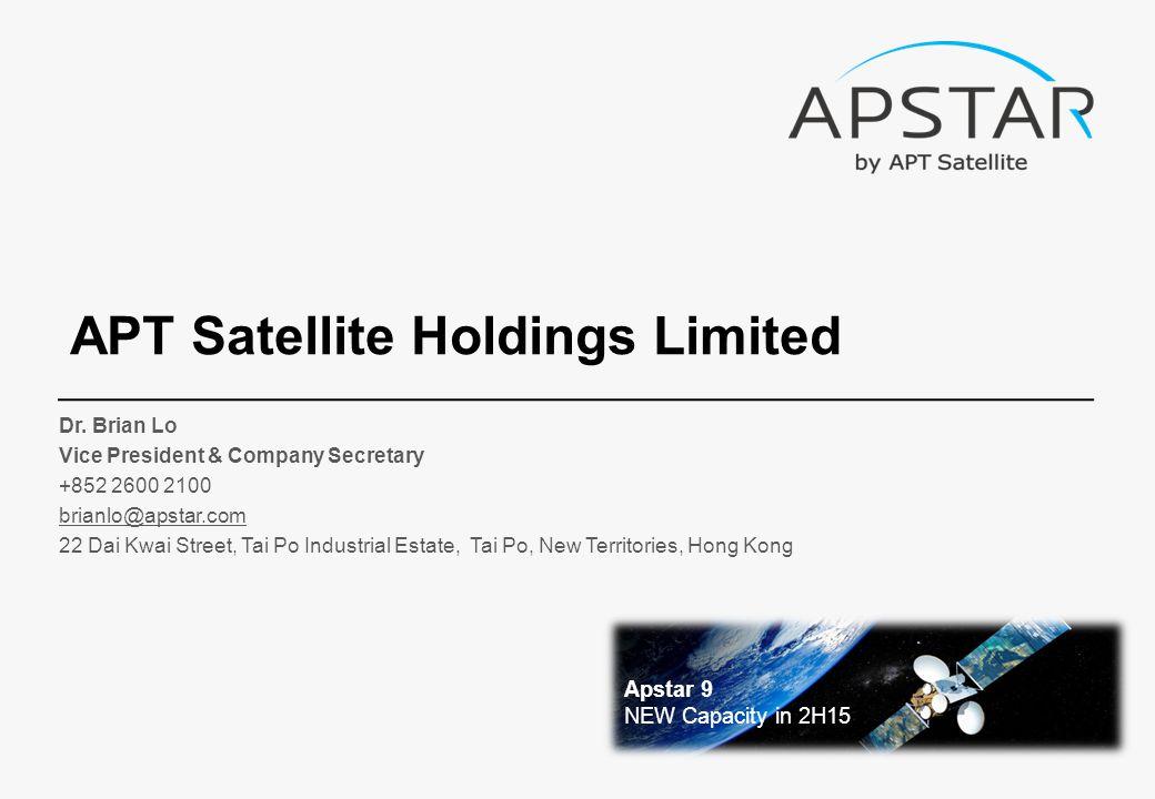 APT Satellite Holdings Limited Dr.