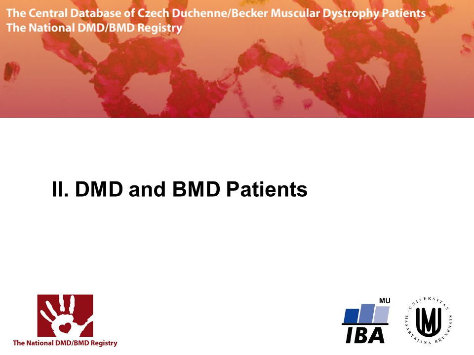II. DMD and BMD Patients