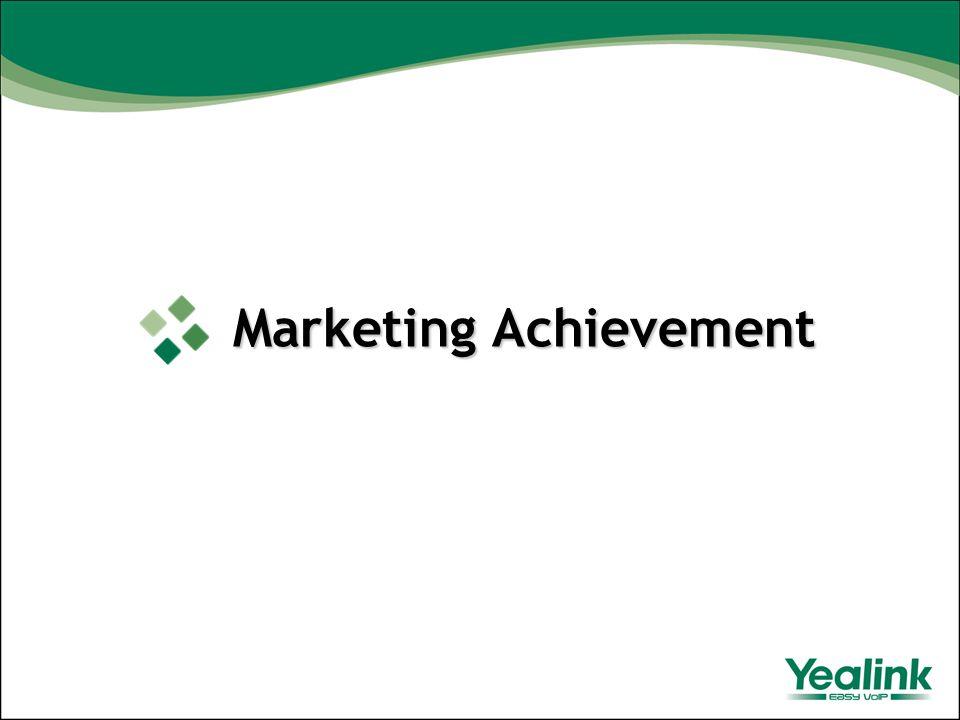 Marketing Achievement