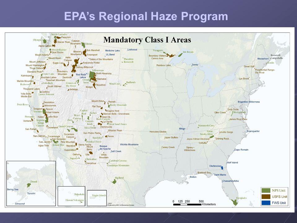 EPA's Regional Haze Program